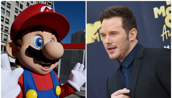 """El actor Chris Pratt le dará voz a Mario en la película de """"Super Mario"""" que preparan Nintendo e Illumination. (Foto: AFP)"""