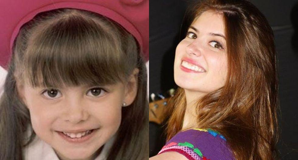 """Daniela Aedo, la actriz que interpretó a 'Dulce María' en """"Carita de Ángel"""" creció y actualmente, de 25 años, es guitarrista, cantante y compositora. (Foto: Instagram / Difusión)"""