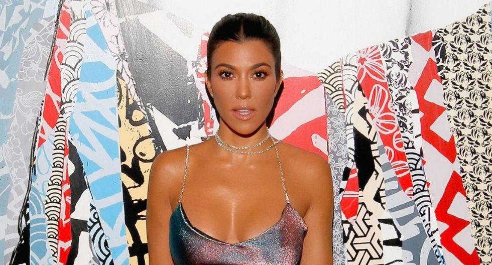 Kourtney Kardashian sorprendió a muchos de sus fans. (AFP)