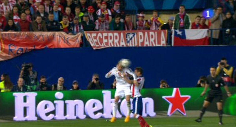 Mandzukic, herido: un codazo de Sergio Ramos le abrió la ceja  - 1