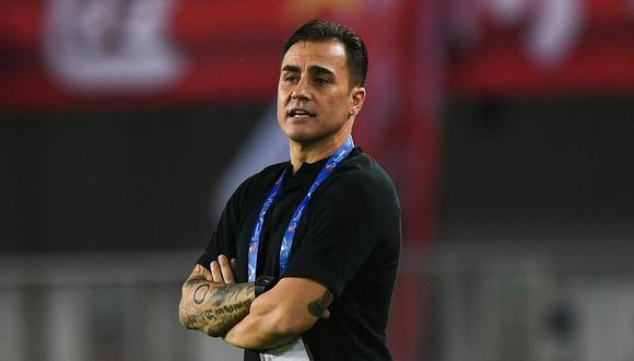 Fabio Cannavaro es el entrenador del club chino Guangzhou Evergrande. (Photo by STR / AFP)