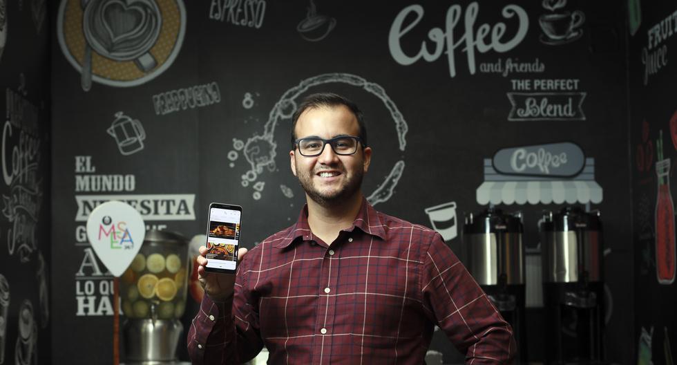 Pedro Callirgos, fundador y CE0 de Mesa 24/7, comenta sobre la evolución de las reservas online en restaurantes. (Foto: Juan Ponce)