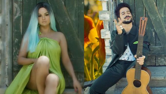 """Selena Gomez luce su español en """"999"""", la colaboración que estrenó con Camilo. (Foto: Composición/Captura)"""