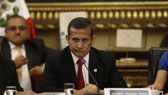 El ex presidente Ollanta Humala reconoció hace dos años que su voz aparecía en las grabaciones. (Foto: GEC)