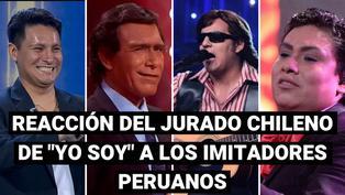 Peruanos en Yo Soy Chile: así reaccionó el jurado ante la participación de nuestros compatriotas