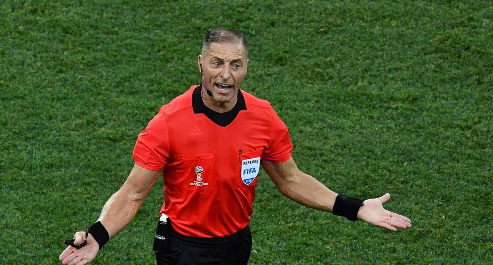 El árbitro argentino Néstor Pitana dirigirá su quinto partido en Rusia 2018. (Foto: AFP)