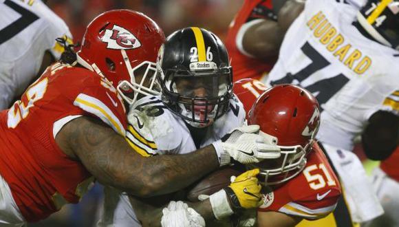 NFL: Pittsburgh Steelers vencen 18-16 a Kansas City Chiefs