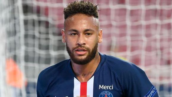 Neymar tiene contrato con PSG hasta mediados del 2022. (Foto: AFP)