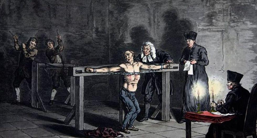 El decreto de expulsión de los judíos de España fue redactado por la autoridad máxima de la Inquisición, Tomás de Torquemada, en el marco de la persecución brutal de ese grupo religioso durante décadas. (Getty Images vía BBC Mundo)