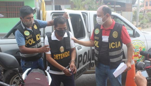 Alejandro Chacón Cusihuaman (56) fue detenido por el presunto delito de violación sexual en agravio de una menor de edad. (Manuel Calloquispe)