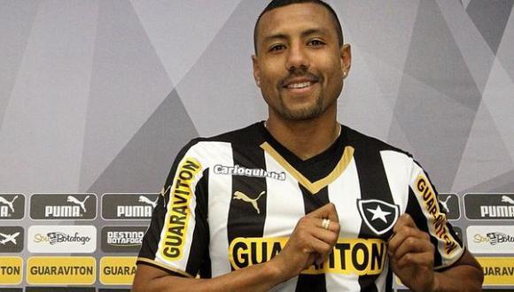 Luis 'Cachito' Ramírez fue presentado en el Botafogo de Brasil