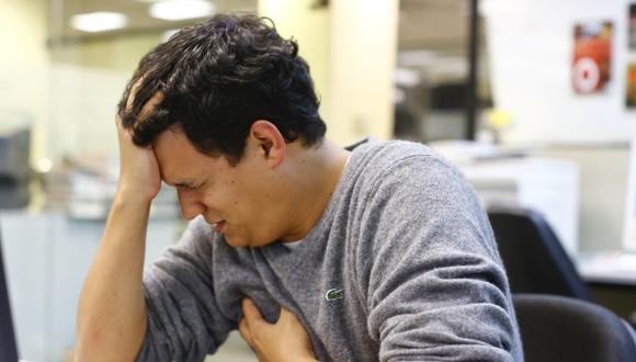 El estrés suele provocar diversos trastornos físicos y mentales. (Foto: El Comercio)