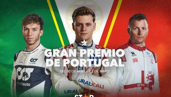 """Star Premium presenta en exclusiva el """"Gran premio de Portugal"""" del 30 de abril al 2 de mayo. (Foto: @starpremiumla)"""