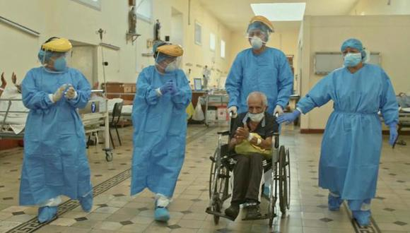 El Ministerio de Salud informó que Santacruz Fernández se recuperó de la enfermedad tras 19 días. (Foto: Minsa)