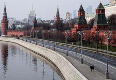 Rusia: decretan confinamiento en Moscú para toda la población   FOTOS