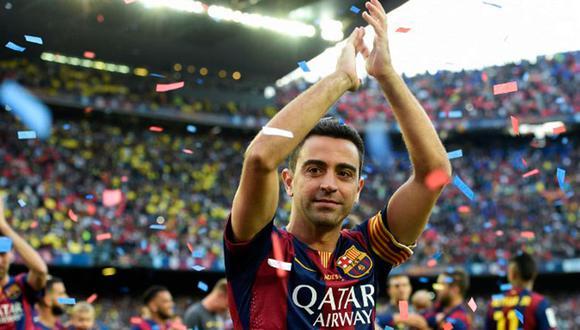 Xavi Hernández es el jugador con más partidos jugados con la camiseta del FC Barcelona. Una de las grandes leyendas que tiene el club. (Foto: AFP)