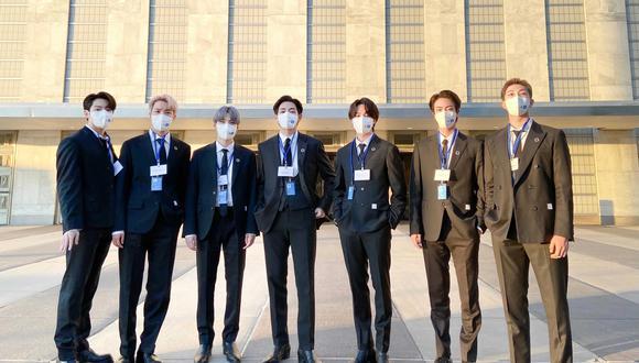 Los idols se presentaron esta mañana ante la Asamblea General de las Naciones Unidas(ONU) dejando un mensaje de reflexión y conciencia.