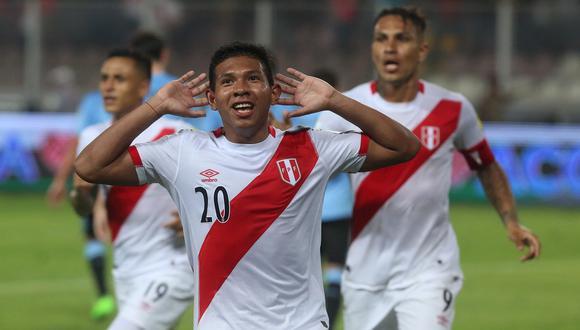 Edison Flores, incluso, podría ser considerado en el once titular que enfrente a Brasil y Paraguay por las Eliminatorias. (GEC Archivo)