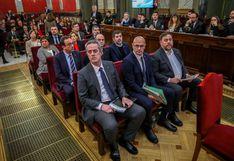 Justicia española lista para dictar sentencia a independentistas catalanes