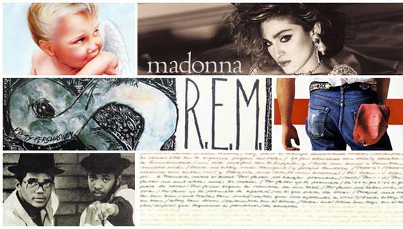 1984: los 30 mejores discos que se lanzaron hace 30 años