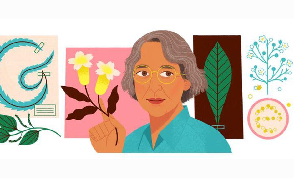 Ynés Mexía, audaz botánica de Estados Unidos, fue reconocida este domingo por el doodle de Google. (Foto: Captura)