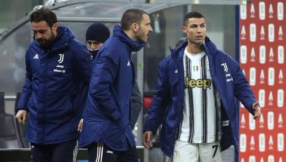 Andrea Pirlo justificó el cambio de Cristiano Ronaldo. (Foto: EFE)