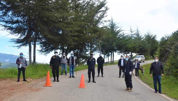 El control se efectúa tanto en la zona del Quique como en la Paccha del Mono. (Foto: Municipalidad Provincial de Contumazá)