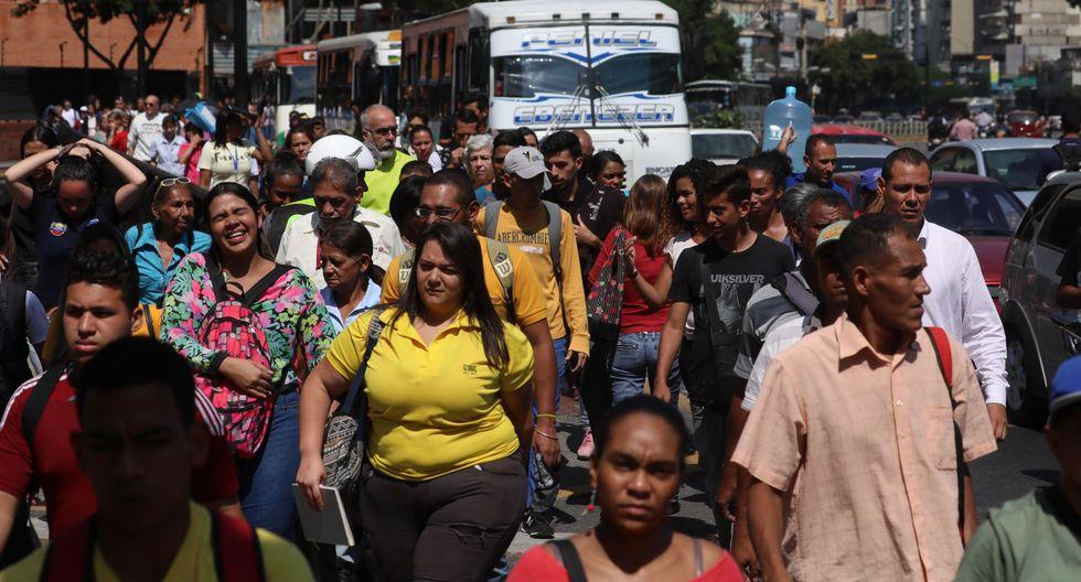 Nuevo apagón desata el caos en Caracas y varias zonas de Venezuela. (EFE).