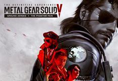 Konami confirma cierre de servidores de los videojuegos Metal Gear Solid V y Metal Gear Online en PS3 y Xbox 360