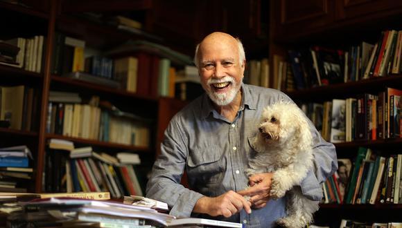 Isaac León Frías, el hombre que veía demasiado. (Fotos: Nancy Chappell/ El Comercio)