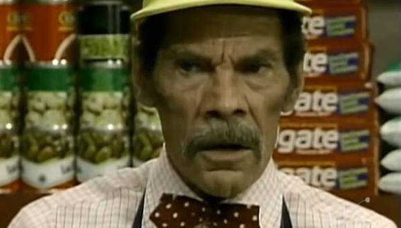 """En """"¡Ah, qué Kiko!"""", Don Ramón era administrador de una tienda de abarrotes, mientras que Kiko era su ayudante. (Foto: Imevisión)"""
