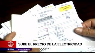 Precios de servicio eléctrico incrementan a nivel nacional