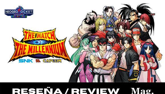 SNK vs Capcom: The Match of the Millennium, el clásico de los fighting games de la Neo Geo Pocket Collection, vuelve a lo grande de a mano de Nintendo Switch. | Crédito: SNK / Difusión / Composición.