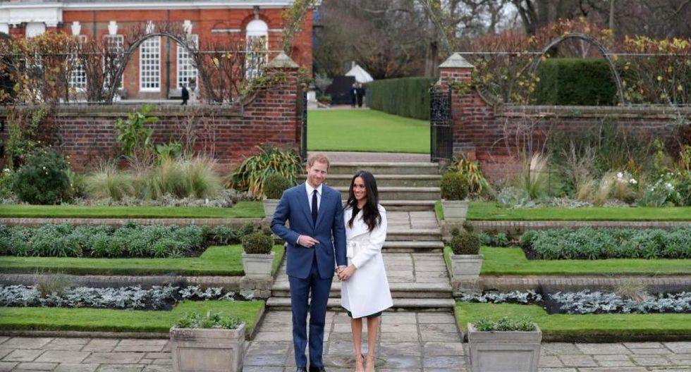 Nottingham Cottage está muy cerca del Jardín Blanco, una de las zonas más impresionantes del Palacio de Kensington, construido en homenaje a la Princesa Diana de Gales. (Foto: AFP)