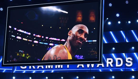 Tributo al fallecido Kobe Bryant en los Grammy 2020. (Foto: AFP)