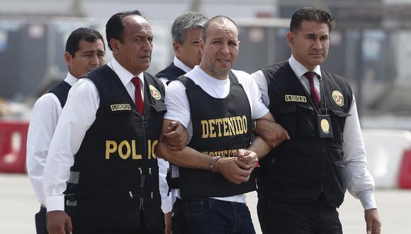 Adolfo Bazán fue detenido en Tacna. Llevaba tres meses huyendo de la justicia. (Foto: César Campos)