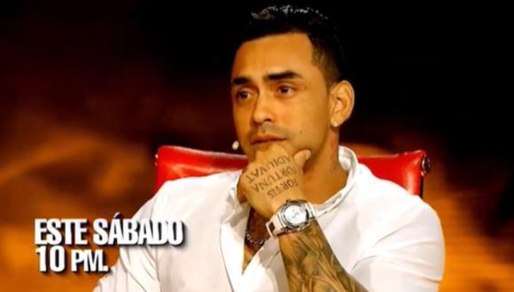 """Diego Chavarry nuevamente en """"El valor de la verdad"""" (Foto: captura)"""