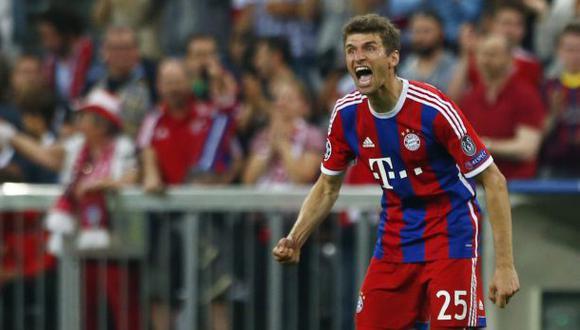 Müller anotó el golazo de la victoria triste del Bayern Múnich