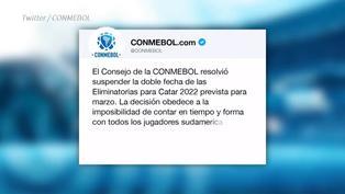 La COVID vuelve a interponerse en las eliminatorias y se suspende la doble fecha sudamericana