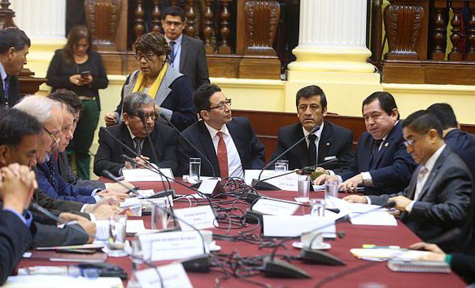 Constitucionalistas y penalistas opinan sobre la viabilidad de las denuncias constitucionales que se analizan en el Parlamento. (Foto: Congreso)