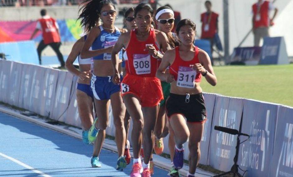 Inés Melchor ganó oro en 5 mil metros en Juegos Odesur 2014