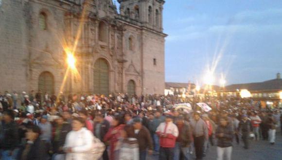 Cusco: protestan contra construcción de hotel Sheraton