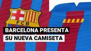 Sin Messi: Barcelona presentó su nueva Barcelona 2021-22
