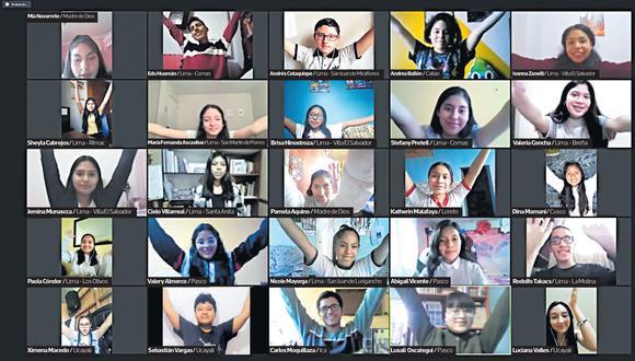 Cada escuela inscrita eligió a cuatro alumnos. Ellos tendrán la oportunidad de sacar a luz los problemas de su comunidad publicando en la edición impresa y digital de El Comercio (Captura de video)