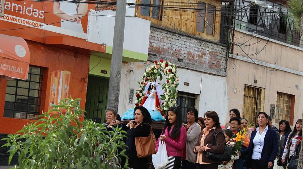 Arequipa: fieles de Virgen de Chapi iniciaron peregrinación - 1
