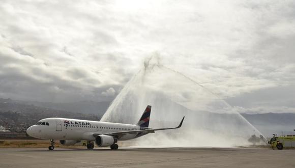 Latam volará hacia el extranjero desde mañana. (Foto: Juan Sequeiros   GEC)