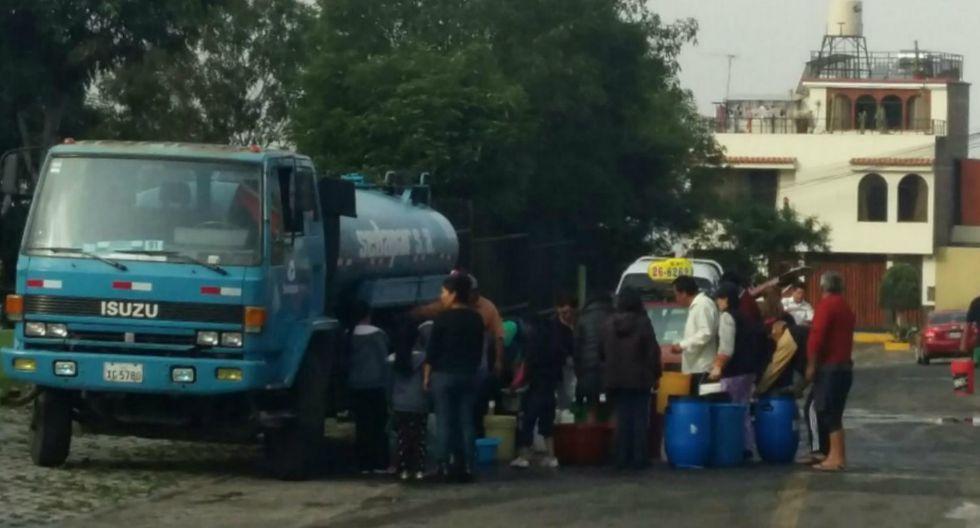 Corte de agua en Arequipa se prolongará hasta el jueves - 3