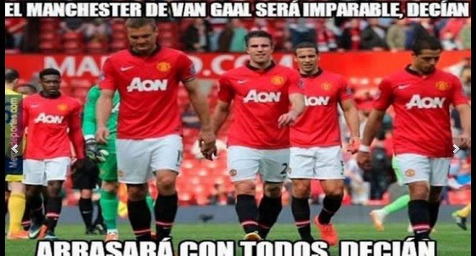 Manchester United: memes contra Van Gaal por sentar a Falcao - 10