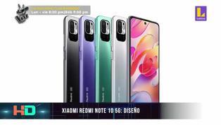 Conoce el diseño del último Xiaomi Redmi Note 10 5G