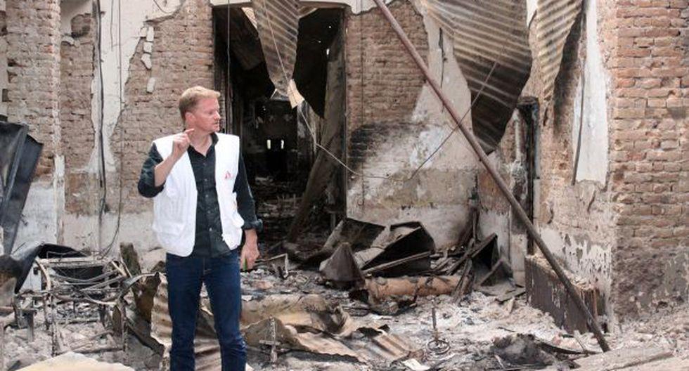"""""""Hospital bombardeado en Kunduz tenía bandera del Talibán"""""""